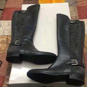 Marc Fisher Medium Calf Tall Shaft Leather Boot